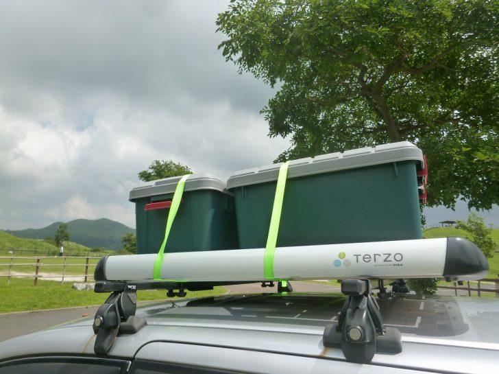 ホンダ フリードに Terzoルーフラック Ea303を自分で装着してみた。~rv Boxとの併用が最適~ とろ